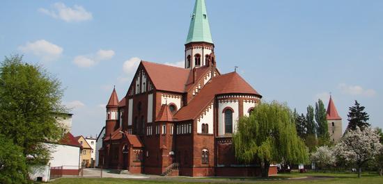 Neoklasyczny kościół pw. NMP w Lewinie Brzeskim